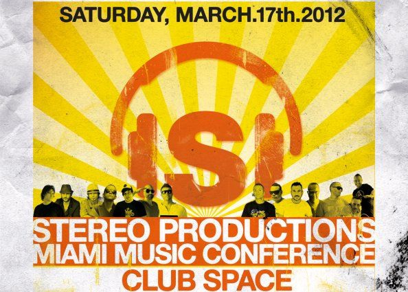 Stereo MMC12 Official event Sat, March 17th CHUS+CEBALLOS and more...
